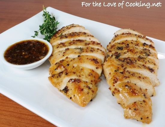 Pam's Maple Mustard Glazed Chicken - take this and convert it to the ...