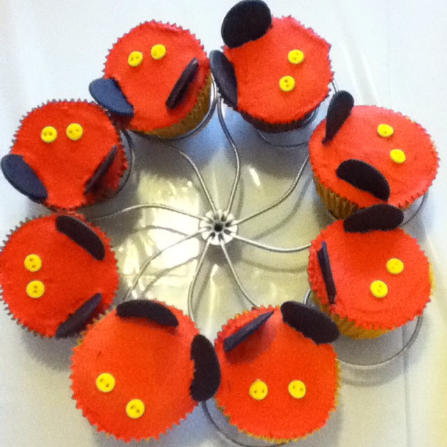 Cupcakes Mickey Mouse First Birthday YaguitoMickey Mouse 1st Birthday Cupcakes