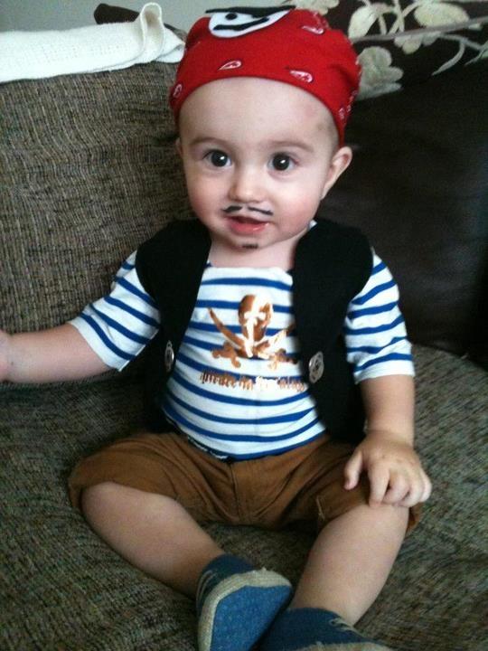 Baby Pirate Costume Halloween