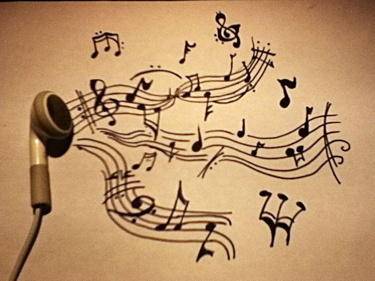 Musical Drawings Cool Drawings of Music