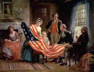 what was the first flag of america