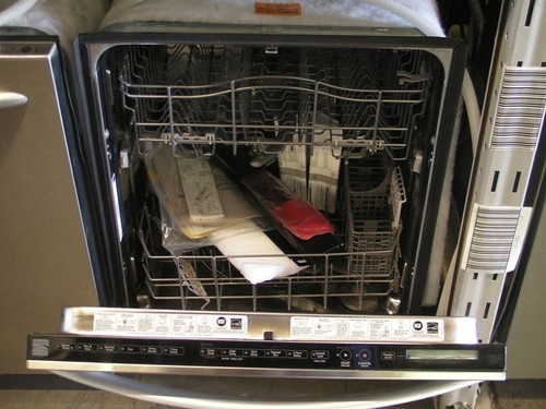 how to clean kenmore elite dishwasher