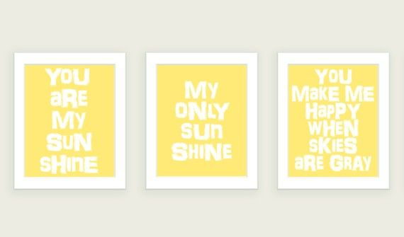 The ColorBee - You Are My Sunshine Prints Set