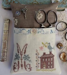 Scissor pocket with motifs from BBD