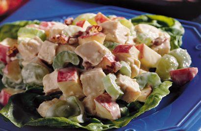 Skinny Chicken Waldorf Salad Recipes — Dishmaps