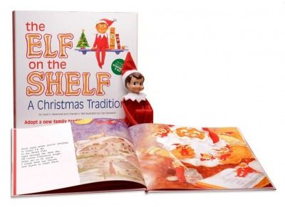 The Elf on the Shelf, $29.95 -- This mysterious elf comes packaged with a companion book!