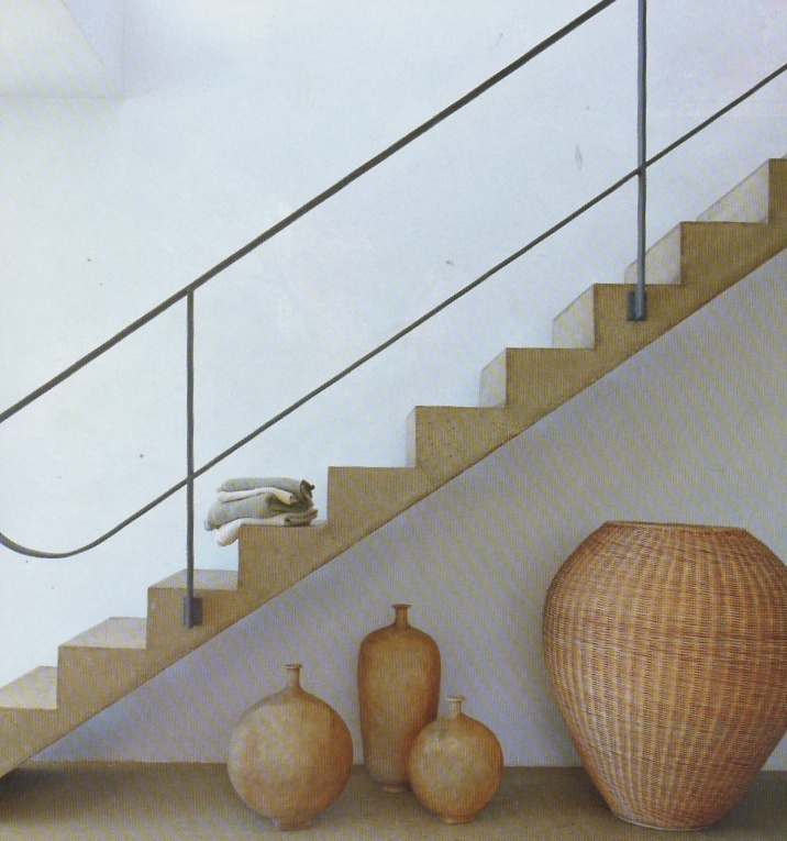 Rampe d 39 escalier stairs pinterest for Garde corps interieur escalier