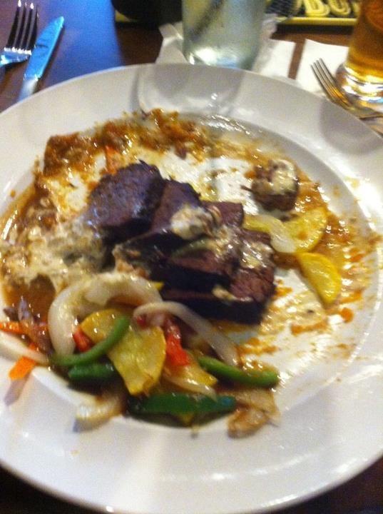 Coffee Braised Short Rib: sausage spiked smashed sweet potato ...