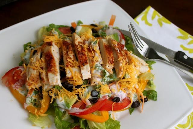 Cajun Chicken Salad | Salads | Pinterest