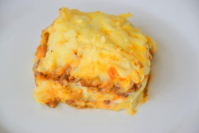 Mushroom and Lentils Potato Pie | My Blog - Palavras que enchem a bar ...