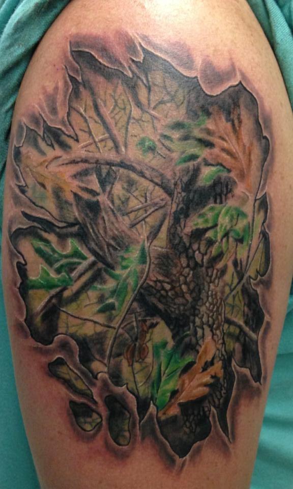 Realtree camo tattoo for girls