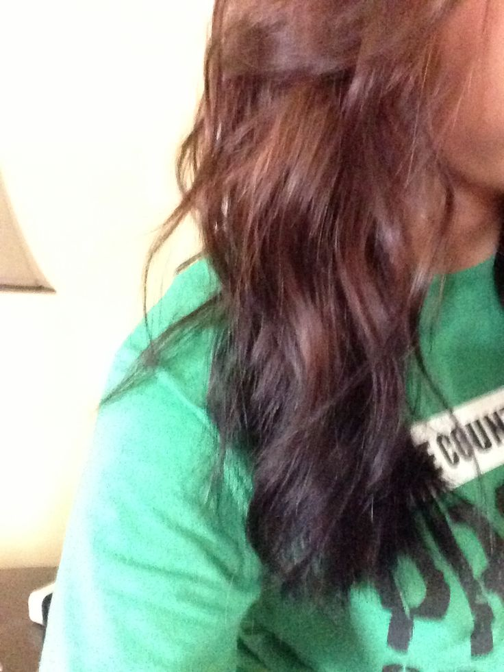 did reverse ombre  My ...