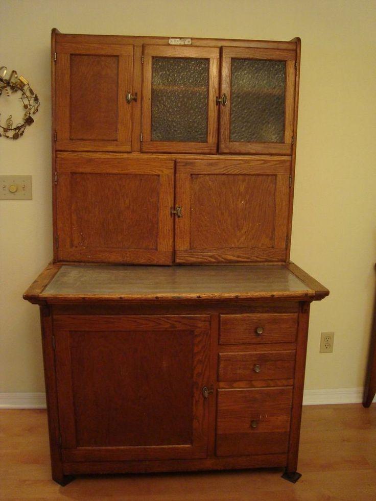 Best Antique Oak Hoosier Cabinet 400 x 300