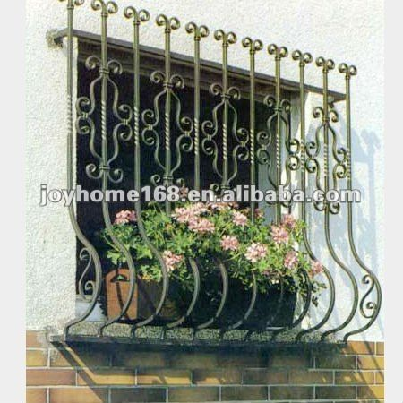 Simple Iron Window Grills/iron window grill design/modern window grill