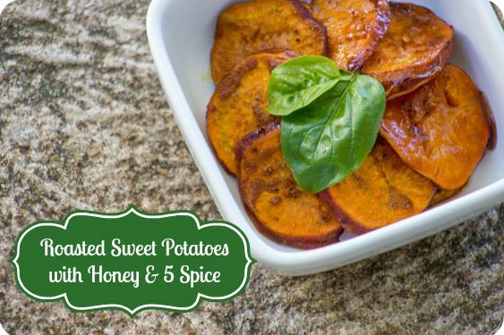 Roasted Sweet Potatoes With Five-Spice Powder Recipe ...