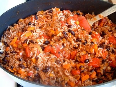 Feast for the Eyes: Mexican Rice Casserole - South of the Border ...