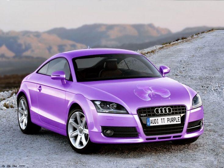 Audi Tt 233 Dition Purple Orchid Sexy Cars Pinterest