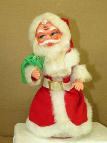 Vintage animated musical santa claus figure decoration 70 for Animated santa claus decoration