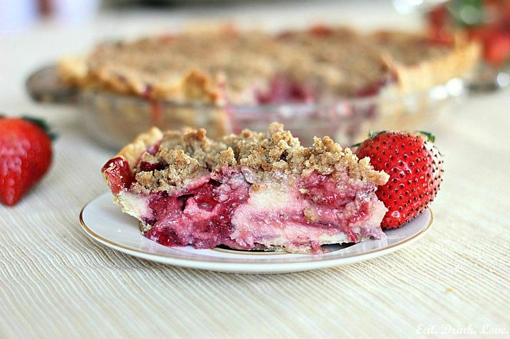 Strawberry-Sour Cream Scones With Brown Sugar Crumble Recipes ...