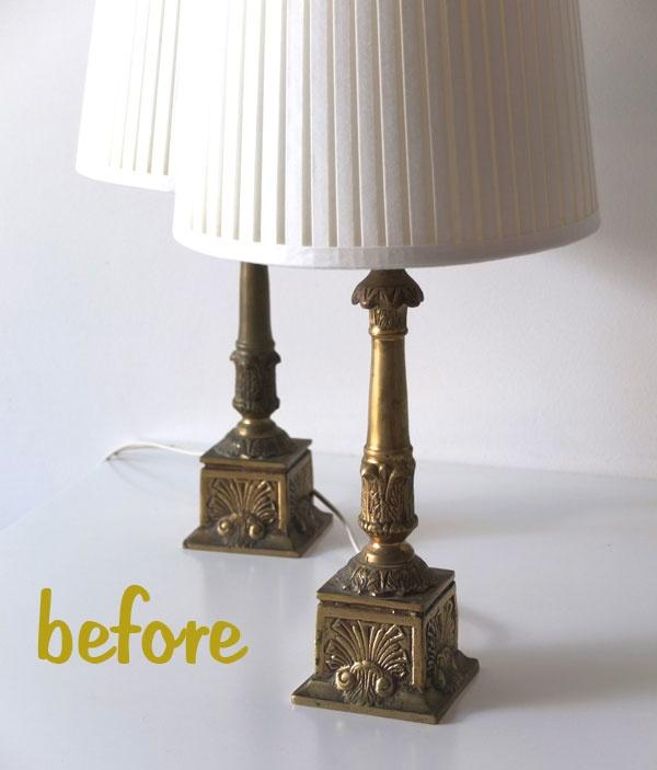 how to easy lamp makeover diy pinterest. Black Bedroom Furniture Sets. Home Design Ideas
