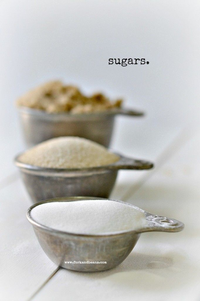 guide to sugar & sweeteners