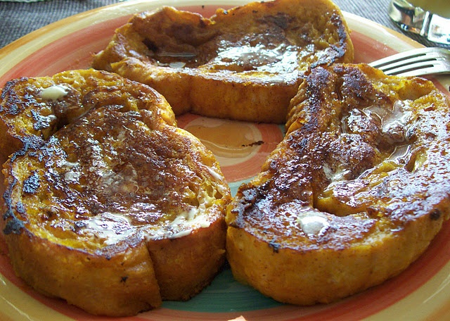 pumpkin pie french toast | Food | Pinterest