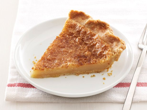Sugar Cream Pie from FoodNetwork.com or also called Hoosier Pie from ...