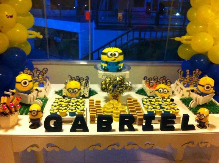 decoracao festa minions : decoracao festa minions:Decoracao De Festa Dos Minions