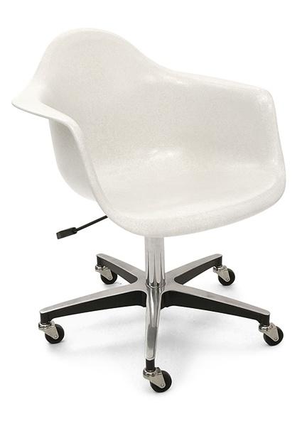 fiberglass shell chair roller for the home pinterest