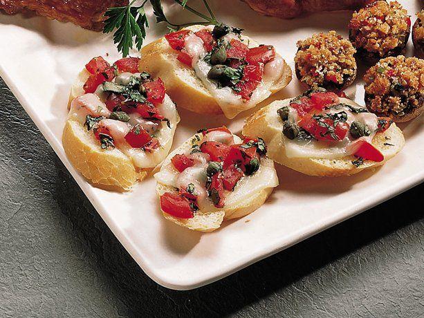 tomato basil crostini recipe martha stewart tomato basil crostini ...