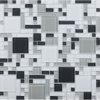 peel and stick glass mosaic tile 1 square foot