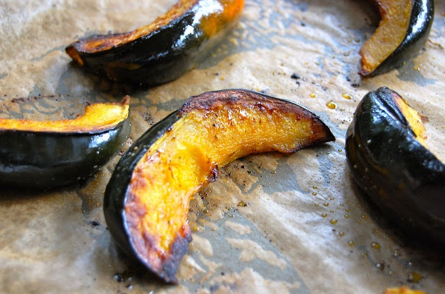 squash wedges sweet roasted rosemary acorn squash wedges the pioneer ...