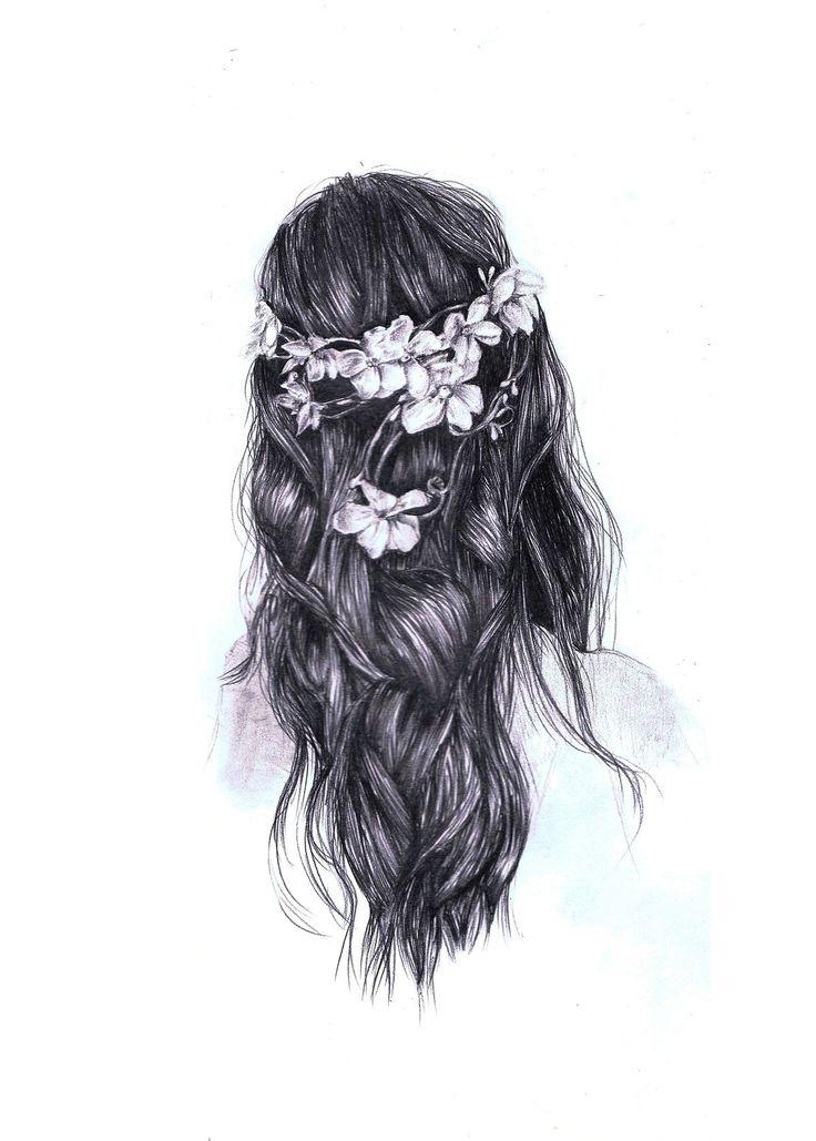 Beautiful tumblr drawing | hipster hair | Art Journal ...