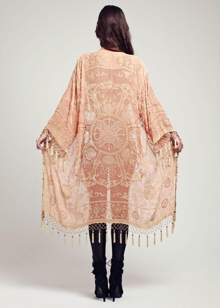 velvet kimono jacket fashion pinterest. Black Bedroom Furniture Sets. Home Design Ideas