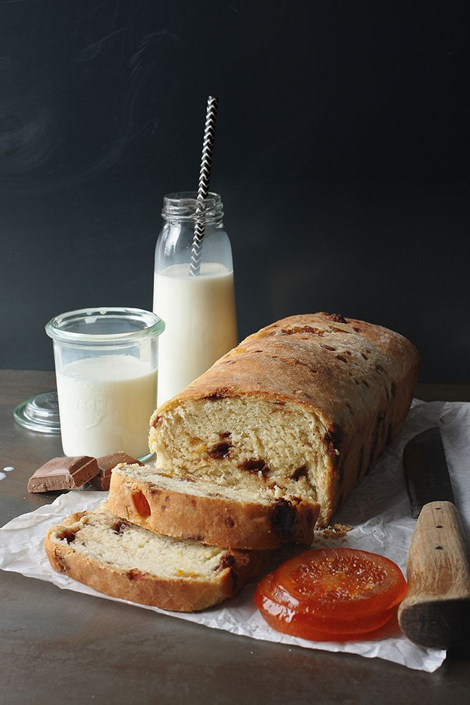Chocolate and candied orange bread | polish | Pinterest