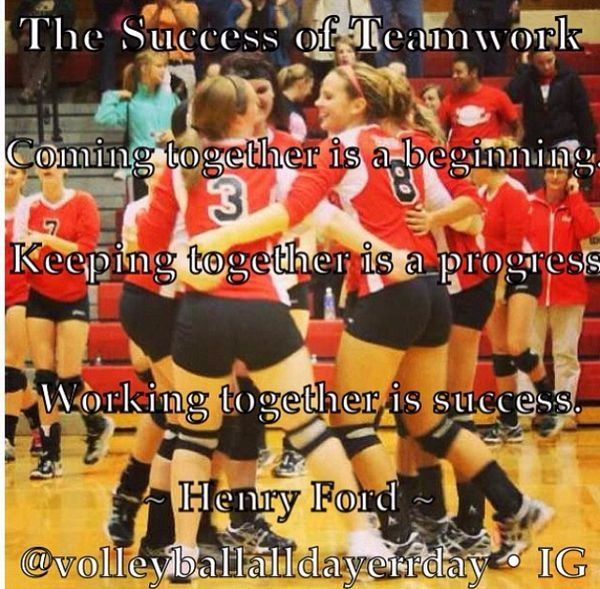 Volleyball Quotes For Teams Volleyball Team Quotes