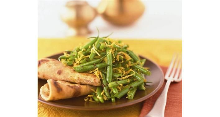 Green Beans with Coconut by myyogakitchen ##Gren_Beans #Coconut #myyogakitchen