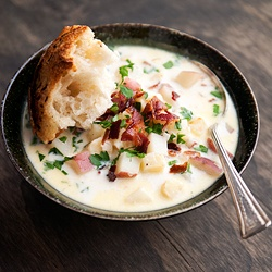 Parsnip chowder. That is all. | D to the E to the L-I-C-I-O-U-S! | P ...