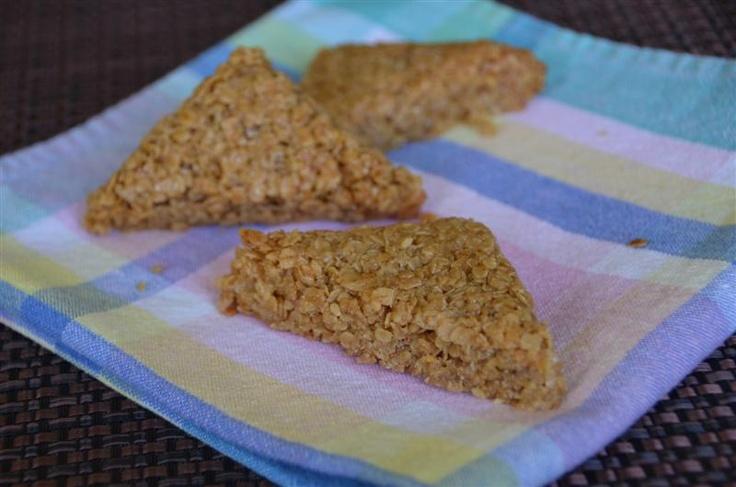Chewy British Flapjacks | Bar recipes | Pinterest