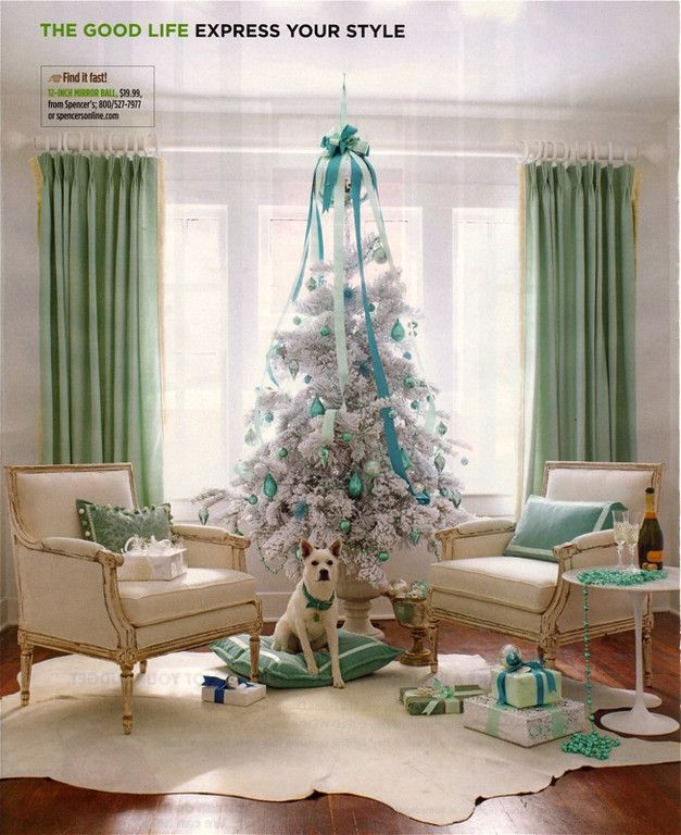 House of Turquoise: Turquoise Holiday Decor