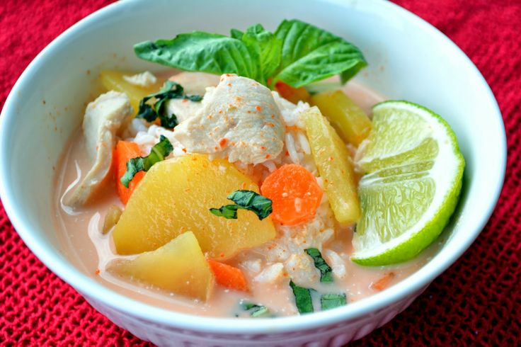 french slow cooker thai red curry turkey recipes dishmaps slow cooker ...