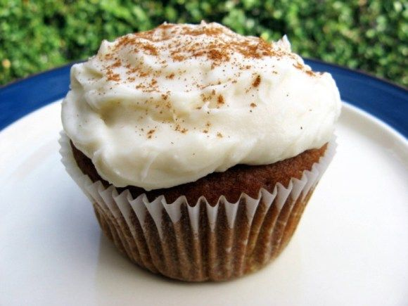 pumpkin muffins with cream cheese icing | Favorite Recipes | Pinterest