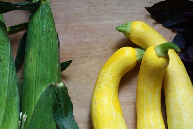 Summer Squash & Fresh Corn Fritters | Tomato/garden recipes | Pintere ...
