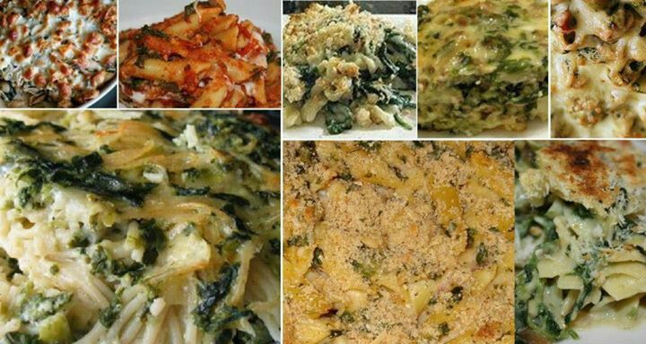 Cheesy pasta and spinach casserole | Favorite Recipes | Pinterest