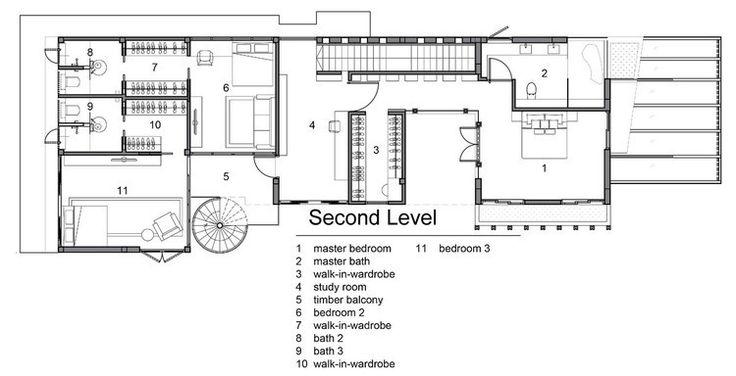 Bản thiết kế của tầng 2 tòa nhà