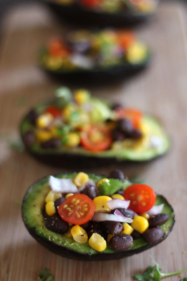 Avocado Salad Bowls by kori-lynn.com #Avocado_Salad_Bowls #kori_lynn