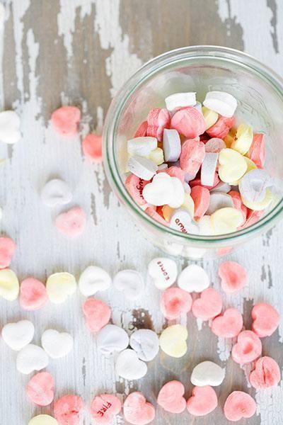 DIY Conversation Hearts | Recipe