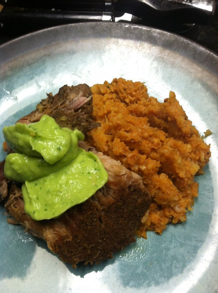 Pork Shoulder Pernil Carnitas Style -- PHENOM. made this with garlic ...