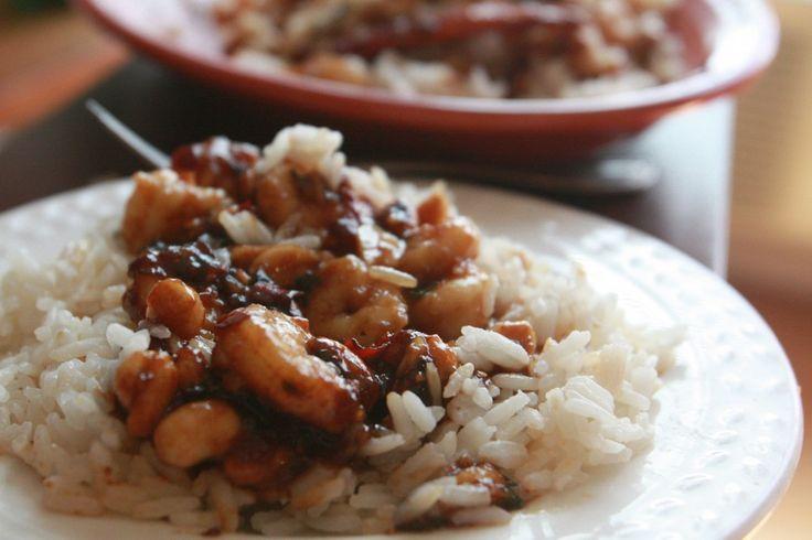 Kung Pao Shrimp | Seafood + Fish | Pinterest