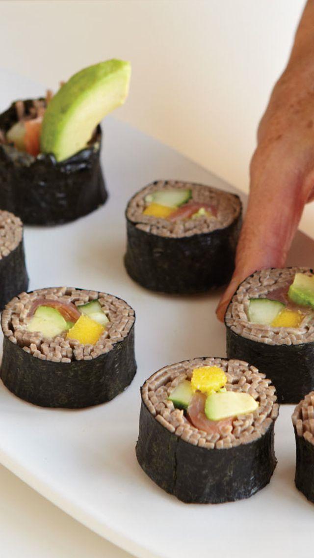 Soba Sushi Rolls | Healthy | Pinterest